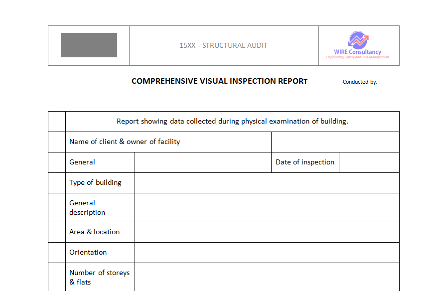 Comprehensive Visual Inspection Report